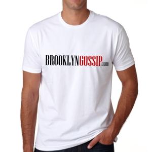 brroklyngossip t-shirt white